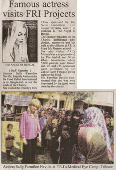 Free Medical Clinic in Khulna, Bangladesh organized by Mother Rytasha and Food Relief International