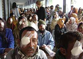 Eye Camp Patients