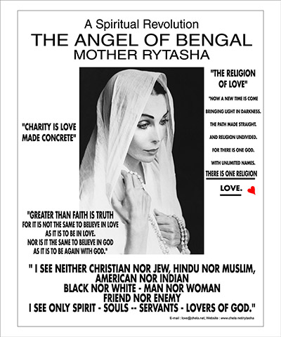 Mother Rytasha - The Angel of Bengal Poster